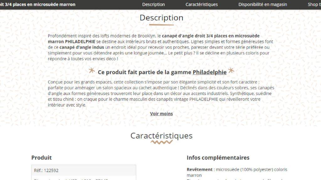 Description-fiche-produit-ecommerce