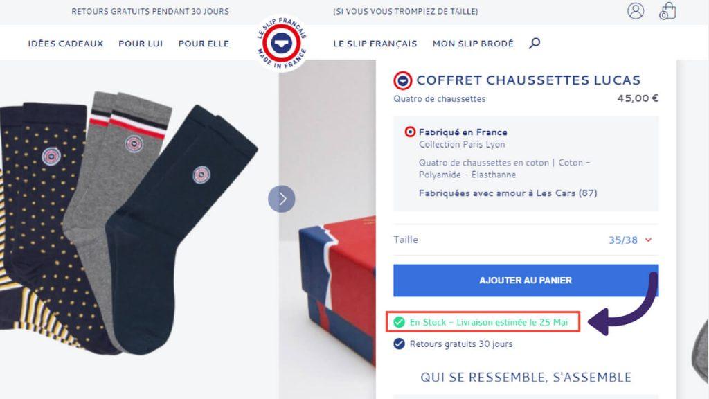 Informations-en-stock-fiche-produit-ecommerce