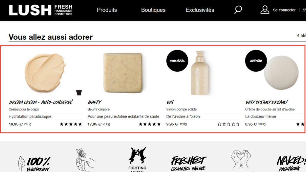 Produits-associés-fiche-produit-ecommerce