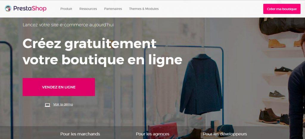 Prestashop-site-ecommerce